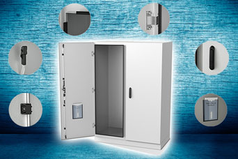 EMKA switch and control cabinet locking solutions
