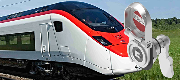 EMKA locking solutions for the Railway industry
