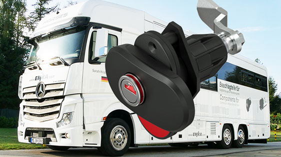 New EMKA locking solutions for Commercial vehicles