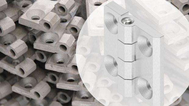 EMKA precision casting of hinges