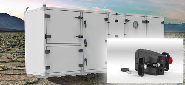 EMKA Locking solutions for heating, ventilation, air conditionin