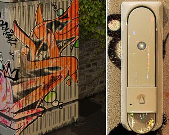 EMKA vandal resistant locks